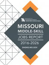 Missouri Middle-Skill Jobs Report Cover Image